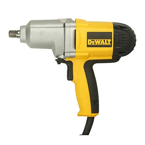 "Dewalt DW292-QS Llave impacto 1/2"" 710W 440Nm M20, 710 W, 230 V, Negro y amarillo"