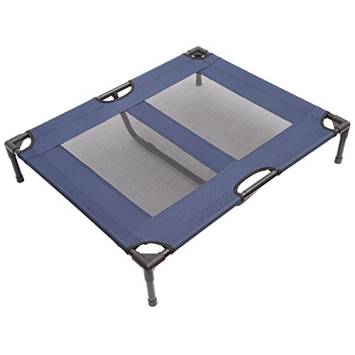 PawHut 36' x 30' Elevated Cooling Summer Dog Cot Pet Bed With Mesh...