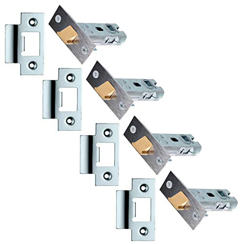 XFORT® 4 Sets of Tubular Latch, High Quality Mortice Latch,...