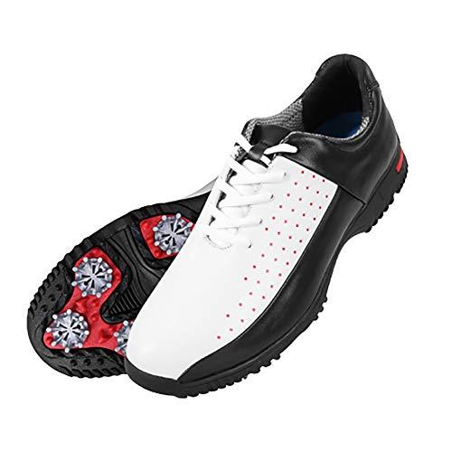PGM Chaussures de Golf pour Hommes Sneakers en Microfibre...