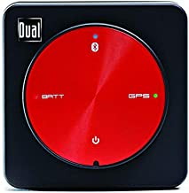 Dual Electronics XGPS150A Multipurpose Universal Bluetooth GPS Receiver with Wide Area Augmentation System and Portable Attachment
