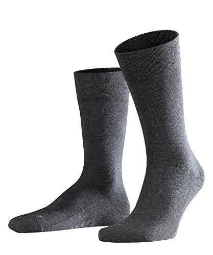 FALKE Herren Socken Sensitive London - 94{b27e77ceb67d34b10db48a1871619f534fcb9c5f1c35aeea932a190eaf8cd90a} Baumwolle, 1 Paar, Grau (Anthracite Melange 3080), Größe: 43-46