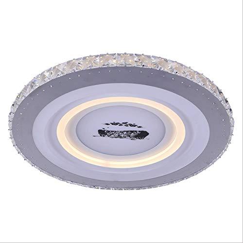 LED plafondlamp ZXT Modern Bird's Nest decoratieve plafondlamp creatieve slaapkamer eenvoudige plafondlamp restaurant rond 220V wisselstroom woonkamer plafond inbouw plafondlamp S-montage Diameter: 50CM