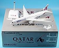 "JC Wings 1:200 XX2050 Qatar Airways Airlines ""OneWorld"" 飛行機 エアバス Airbus A350-900XWB ダイキャスト航空機モデル Reg#A7-ALZ"
