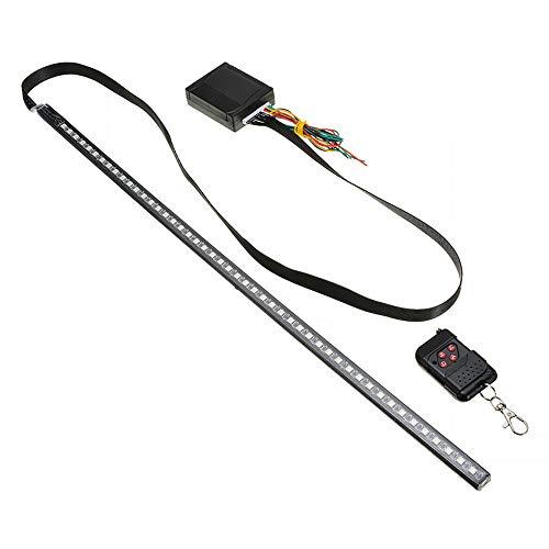styleinside Auto-LED-Streifenleuchten, wasserdichte Auto-LED-Bunte Lampe blinkt/blinkt Auto-Blitzlichtstreifen mit drahtloser Fernbedienung