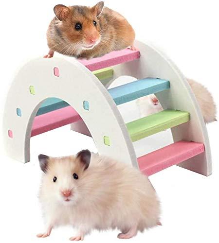 CNMYDZ Hamster Toy Hamster Play Toys Hamster Cage Accessories Subida y Juego Juguete, Actividad Animal Pequeño Juguete Forhamster Chinchilla Ratones 15 cm (Size : 9cm)