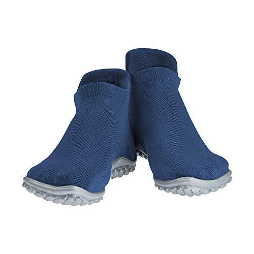 Leguano Sneaker Barefoot Shoes | Lightweight and Breathable Minimalist Footwear | Slip Resistant Casual Footwear Blue