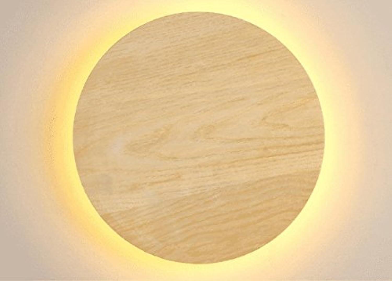 StiefelU LED Wandleuchte nach oben und unten Wandleuchten Schlafzimmer Nachttischlampe Wandleuchte Durchgang aus Holz Flur Terrasse Restaurant ist LED Wandleuchte, Gro