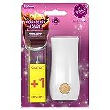 Glade Touch & Fresh - Mini spray ambientador, soporte con 2 recargas, bayas rojas, vino caliente, canela, 2 x 10 ml