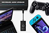 Creative Sound Blaster G3 USB-C DAC Amplifier for PS4 Gaming Consoles, Nintendo Switch, with GameVoice Mix (Game/Chat Audio Balance), Microphone/Volume Control