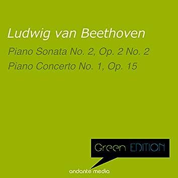 Green Edition - Beethoven: Piano Sonata No. 2 & Piano Concerto No. 1