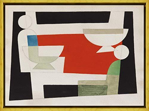 Berkin Arts Sophie Taeuber ARP Rahmen Giclee Auf Leinwand drucken-Berühmte Gemälde Kunst Poster-Reproduktion Wand Dekoration Fertig zum Aufhängen(Ohne Titel) #XLK