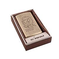 レトロメタルシガレットケース銅彫刻フリップカバー超薄型ポータブルシガレットボックス、12本のシガレットを収納、さまざまなスタイル