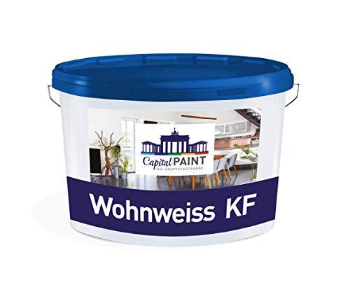 Wandfarbe Farbe-Direkt KF-Innenfarbe weiß 10,0 Liter Allergiker geeignet Konservierungsmittelfrei