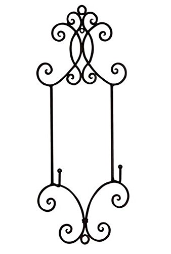 StealStreet SS-Tri-59440 22.25 inch Chelsea Collection Wall Rack