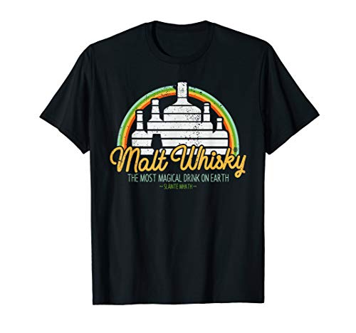 """Malt Whisky\"" - T-Shirt für Single Malt Whisky Freunde"