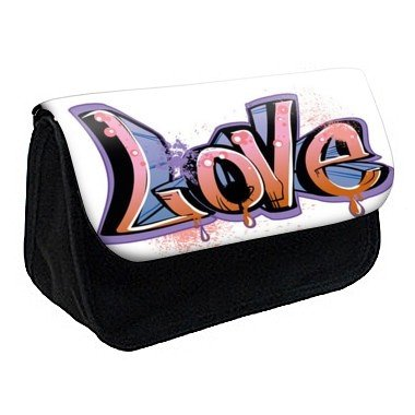 Youdesign - Trousse à Crayons/ Maquillage love hiphop ref 322 - Ref: 322
