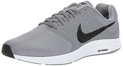 Nike Men's Downshifter 7 Running Shoes, Grey (Stealth/Black Cool Grey White), 6 UK (40 EU)