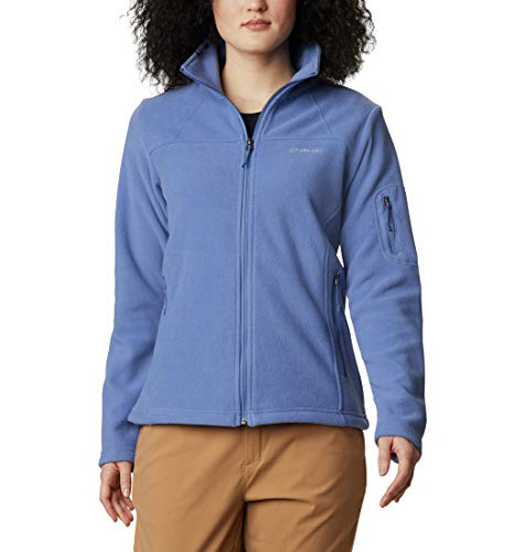 Columbia Women's Fast Trek II Jacket, Plum, Medium