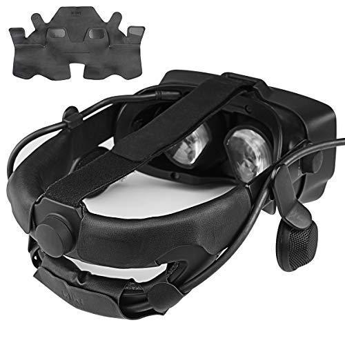 KIWI design Accessori per Valve Index Copertura della Fascia per la Testa VR con Pelle PU Confortevole, Resistente al Sudore e Lavabile