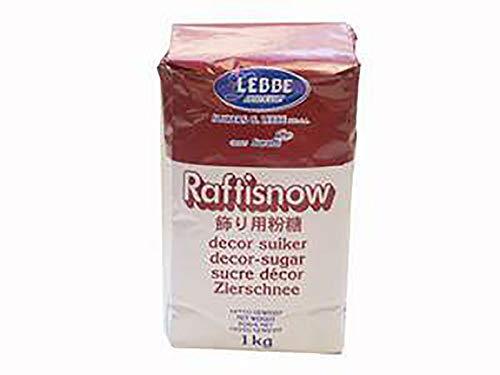 【製菓用】 LEBBE(レブ) ラフティスノウ 1kg 粉糖