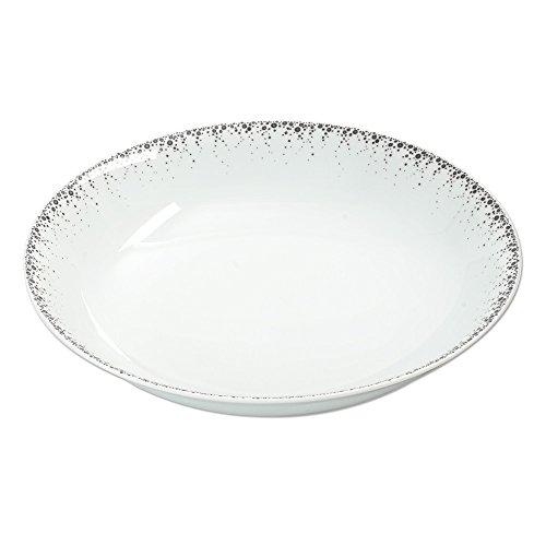 Table Passion - Plat rond creux 29 cm borealis gris