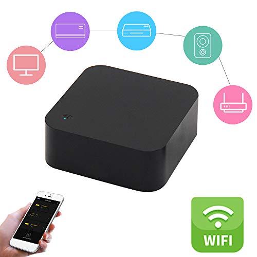 OWSOO Control Remoto Inteligente WiFi-IR IR Control Hub WiFi(2.4Ghz) para Aire Acondicionado TV DVD Ventilador Usando Tuya Smart Life App Compatible con Alexa Google Home IFTTT
