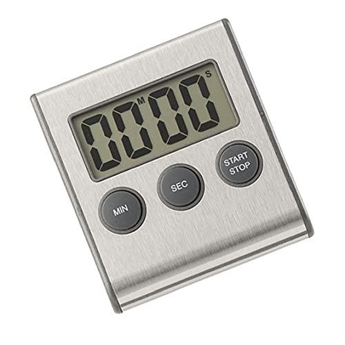 NIDONE Digital Kitchen Timer Magnetisk LCD-skärm Matlagning Nedräkning Stopwatch Clock (inget batteri)
