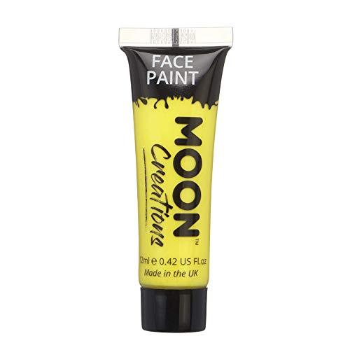 Peinture Visage & Corps par Moon Creations - 12ml - Jaune