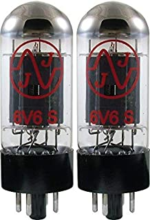 JJ 6V6 Burned In Vacuum Tube, Apex Matched Pair