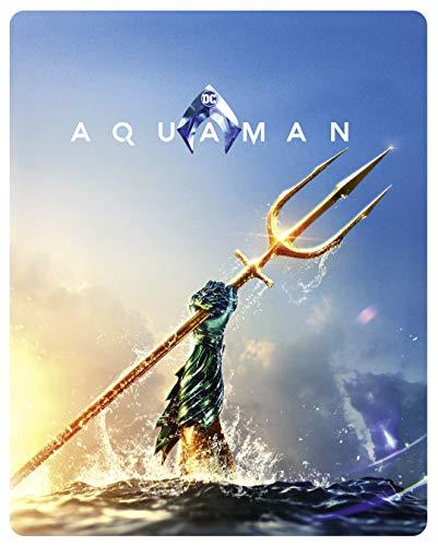 Aquaman 4K UHD + 2D Steelbook [Blu-ray] [Limited Edition]