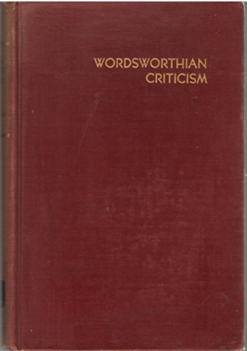 Wordsworthian Criticism A Guide And Bibliography Graduate School Monographs Contributions In Languages And