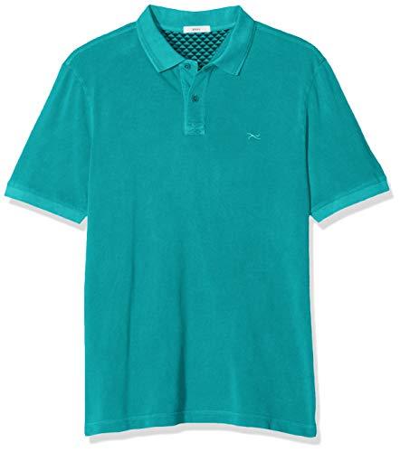 BRAX Herren Pele Washer Polo Shirt Poloshirt, Grün (Mint 36), Small (Herstellergröße: S)