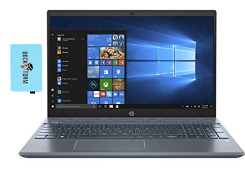 HP Pavilion 15-eg BL Home and Business Laptop (Intel i7-1165G7 4-Core, 16GB RAM, 512GB SSD, Intel Iris Xe, 15.6' Touch Full HD (1920x1080), WiFi, Bluetooth, Webcam, 2xUSB 3.1, Win 10 Home) with Hub