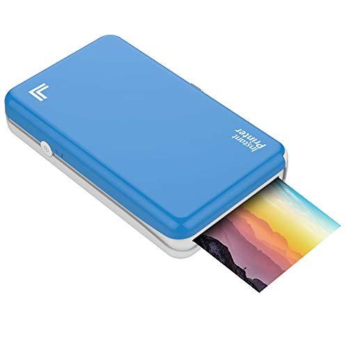 "%13 OFF! Sharper Image Wireless Portable Instant Photo Printer, 2.1"" x 3.4"" | Premium Quality 4P..."