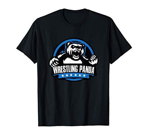Wrestle like a Panda Bear. Wrestling Combat Tee for Wrestler T-Shirt