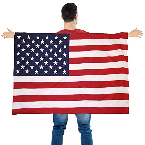 FUTUREPLUSX American Flag Cape, Wea…