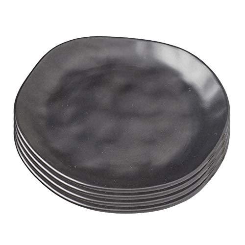 Kare Teller Organic Black 20 cm