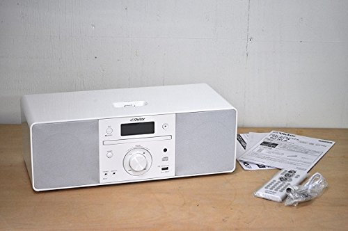 JVCケンウッド JVC iPod対応CDポータブルオーディオシステム ホワイト RD-N1-W