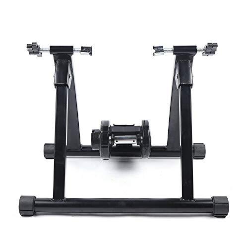 XIANXUS Rodillo de entrenamiento para bicicleta estática, bicicleta para interiores y exteriores, plegable