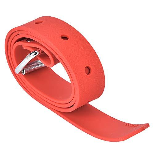 Changor Ajustable Buceo Cinturón, Goma Contrapeso Cinturón Calidad Goma Material Acero Hebilla Buceo Peso Cinturón Goma Hecho