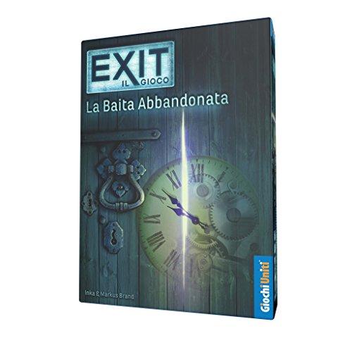 Exit: La baita abbandonata - Escape Room da tavolo | Giochi Uniti