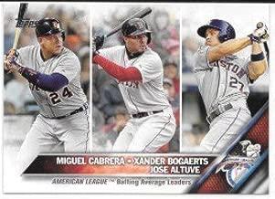 american league batting leaders