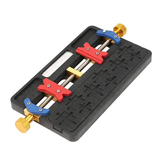 Soporte para reparación de teléfonos, soporte para PCB, soporte para PCB, resistente al calor, laboratorio para trabajos de hobby, taller de reparación de piezas pequeñas