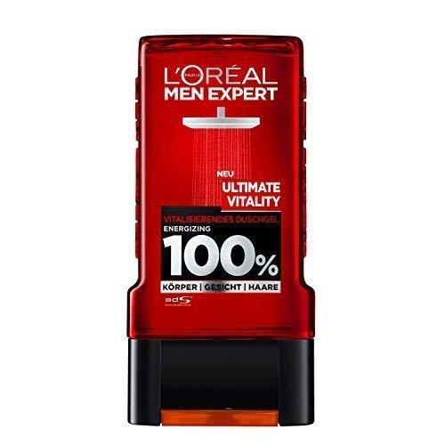 L'Oreal Men Expert Douche Ultimate Vitality, 2er Pack (2 X 300ml)