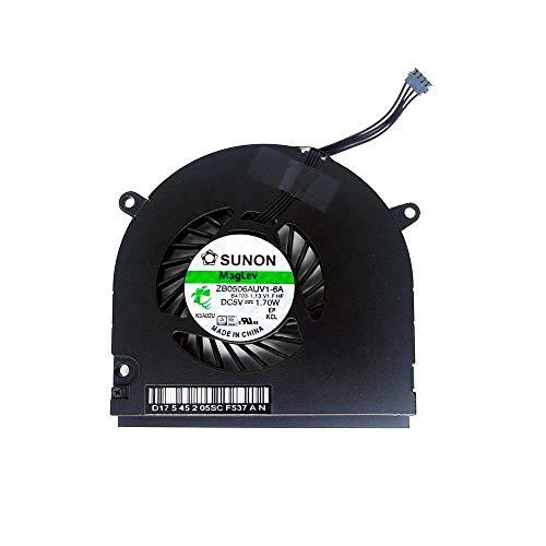 OLVINS Laptop CPU Ventilador de refrigeración para Apple MacBook Pro 13'' Unibody A1278 A1280 A1342