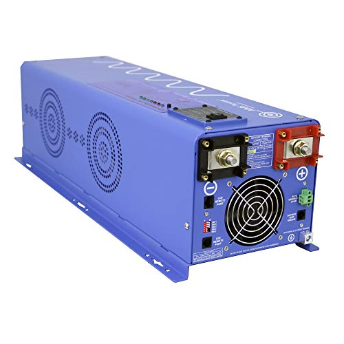 AIMS Power 6000 Watt Pure Sine Inverter Charger 48Vdc & 240Vac Input to 120 and 240Vac Output 50 or 60Hz