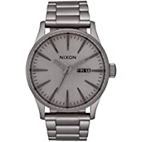 Nixon Men's Sentry SS 42mm Gray Dial Stainless Steel Watch
