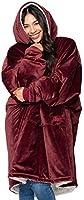THE COMFY - De deken, die ook een sweatshirt is. Zachte en gezellige knuffeldeken, één maat