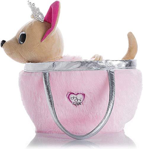 DINGX Muñeca de peluche con correa para perro, juguete eléctrico que puede caminar y cantar, juguetes interactivos, regalo de cumpleaños Día de Cdren. Color: rosa (color: rosa)